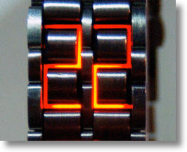 No Face Time for Hiranao Tsuboi's Designer LED Wristwatch