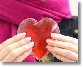 Reusable Heart Shaped Hand Warmer is People AND Earth Friendly