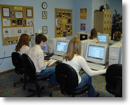 People Using a Computer
