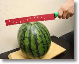Watermelon Knife is a Sweet Slicer that Cuts Cleanly