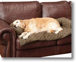 Solvit Bolstered Pet Furniture Cover