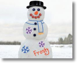 Snowman Paint Kit