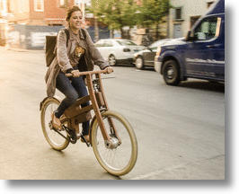 World's First Electric Wooden Bike Leads The Charge To Sustainable Cycling