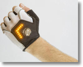 Zackees Turn Signal Gloves Are A Bright Biking Idea