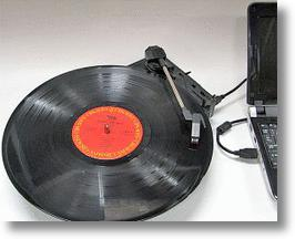 USB Record Turntable Plays the Hits, Saves Them to Your PC