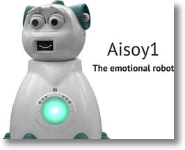 Aisoy1 V5 Emotional Robot Helps Kids with Autism (image via Facebook)