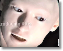 'Alter' Humanoid Robot (image via YouTube screen shot)