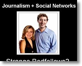 Arianna Huffington and Mark Zuckerberg