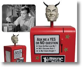 "Mystic Seer machine from Twilight Zone episode ""Nick of Time"""