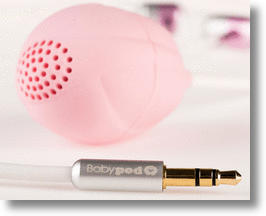 Babypod vaginal speaker to promote vocalization in babies