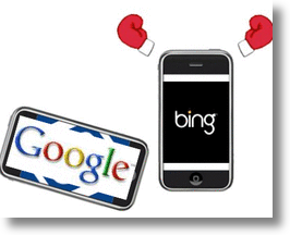 Bing vs Google in China!