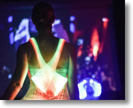 Electric Runway Dress