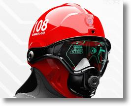 Prototype of the C-Thru Smoke Diver Helmet