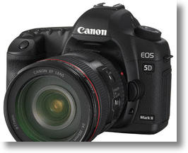 The Canon 5D Mark II is a popular choice for video-endabled DSLR users.
