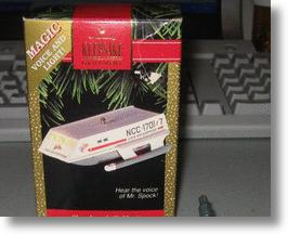 Star Trek Shuttlecraft Christmas Ornament