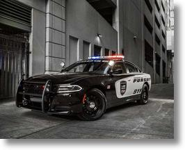 Dodge Charger Pursuit Police Cars To Get 12.1-inch Uconnect Touchscreens