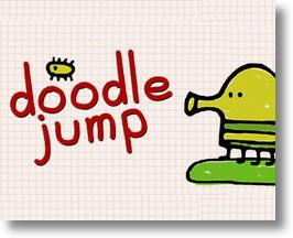 Go Jump, Jump, Jumpity Jump In The Doodle Jump iPod Game