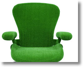 Herman Miller Aeron Chair Gets Extreme Green Makeover
