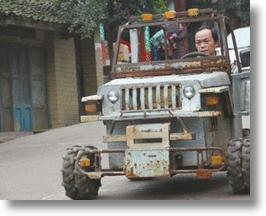Homemade 'Hummer' Lets Chinese Chef Show Some Swagger