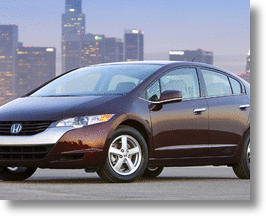 Honda FCX Clarity, Fueled by Hydrogen and Powered by a Fuel Cell