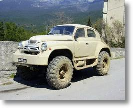 First Soviet SUV Sports Lots Of Utility, Enormous Tires