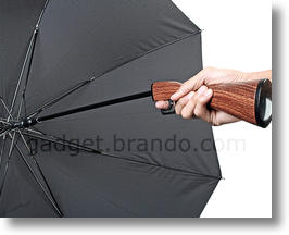 Rifle Umbrella Keeps You Dry, Could Trigger Panic
