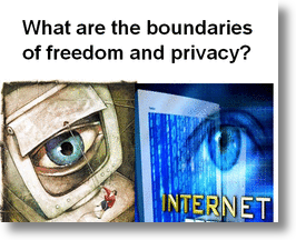 Google Internet Freedom or Privacy of Individual!