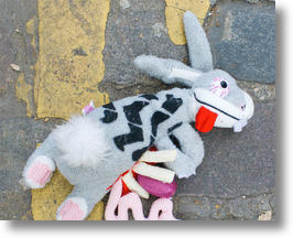Grind the Rabbit from Road Kill Toys