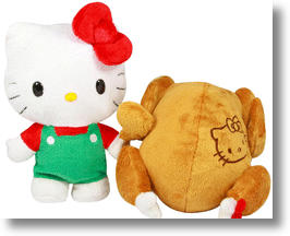 Hello Kitty Reversible Plush Turkey Is Officially Weird