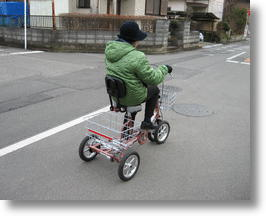 Silver Generation Tricycle Helps Seniors Exercise Their Independence
