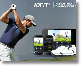 IOFIT Smart Shoe (image via Salted Venture's IOFIT)