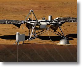 NASA's InSight Lander To Explore Beneath The Surface Of Mars