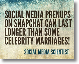 Social Media Prenups Face Loopholes With Snapchat & MySpace