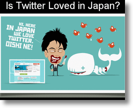Is Twitter loved in Japan?
