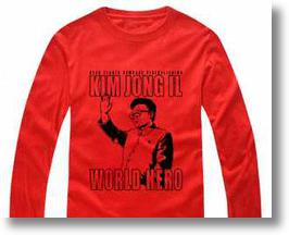 Chinese Internet Retailers Now Stocking Kim Jong-Il T-shirts & Hoodies