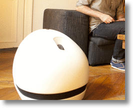 This Robot Wants To be Both An Entertainment Center And Security Droid