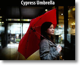 The Red Cypress Umbrella