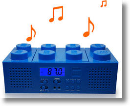 Leggo Of My LEGO-Inspired Radio Alarm Clock and Boombox