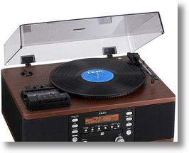 Burn Vinyl &amp; Cassettes to CDs with the TEAC LP-R500 Multi-Format Player