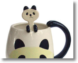 Animal Character Round Mug &amp; Spoon Sets Add Cuteness To Any Kitchen