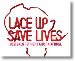 Lace Up, Save Lives with Nike (Red) Laces