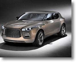 Aston Martin's Lagonda SUV Concept Spies Well-Heeled Chinese Drivers