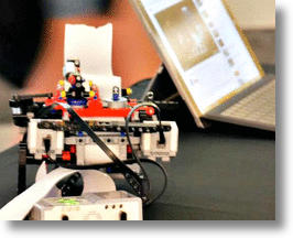 Lego Braille Printer by Braigo Labs (image via Facebook)