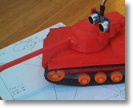 Logitraxx Robot Kit Will Help You Build And Program Your Own Mini Tank