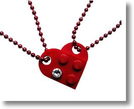 Mademoiselle Alma LEGO Love Design Jewelry