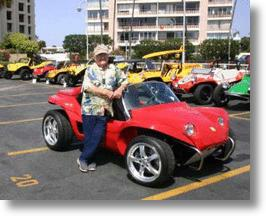 Meyers Manx V Electric Dune Buggy