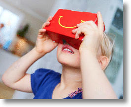 McDonald's Happy Meal VR Happy Goggles