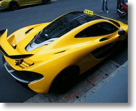 Checker This Out: McLaren P1 Taxi Trolls Taiwan Travelers