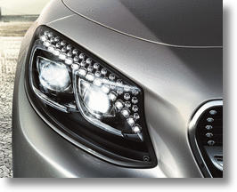 2015 Mercedes-Benz S-Class Coupe Flaunts Swarovski Crystal Headlights