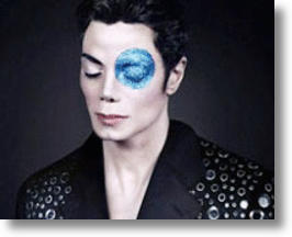 "Michael Jackson ""Blue Eye"" Portrait"